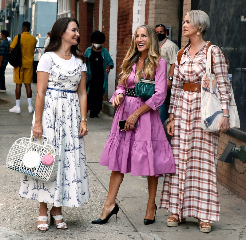 Sex and the City Reboot's fashion moments so far. - 5 STAR LUXURY LIFE MAGAZINE